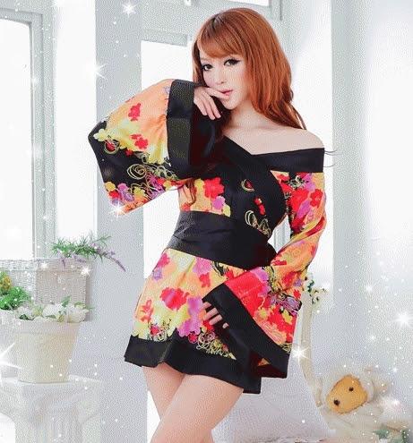 Baju Tidur Kimono fg160-4