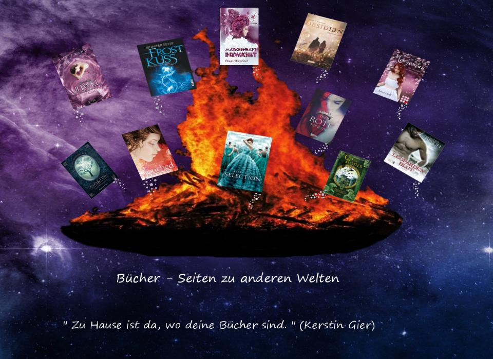 Bücher - Seiten zu anderen Welten