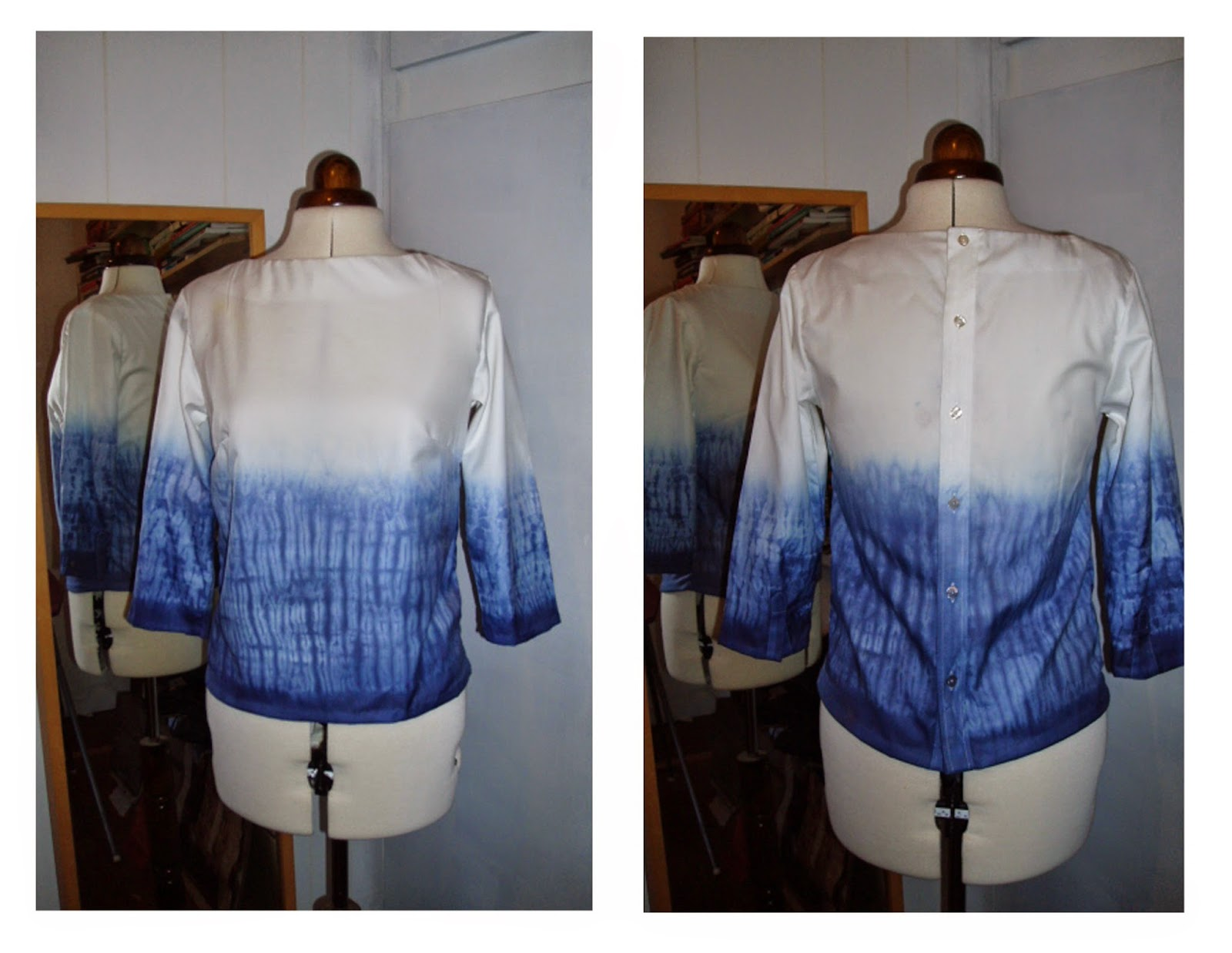 rrefashion shirt shibori