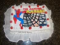 Bolo Homem Aranha