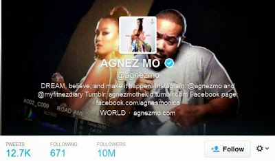 Wow Follower Agnes Monica Tembus 10 Juta