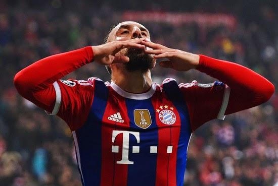 Ribery Bayern Raja