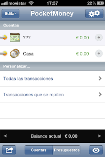 Pocket Money ahorrar con tu iPhone y Android