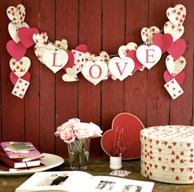 Valentine crafts easy paper craft ideas on a budget for Valentines dinner party ideas