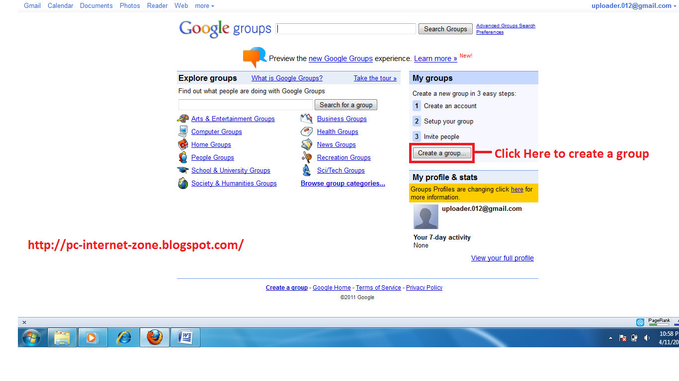 Add A Forum To Blogspot/Blogger