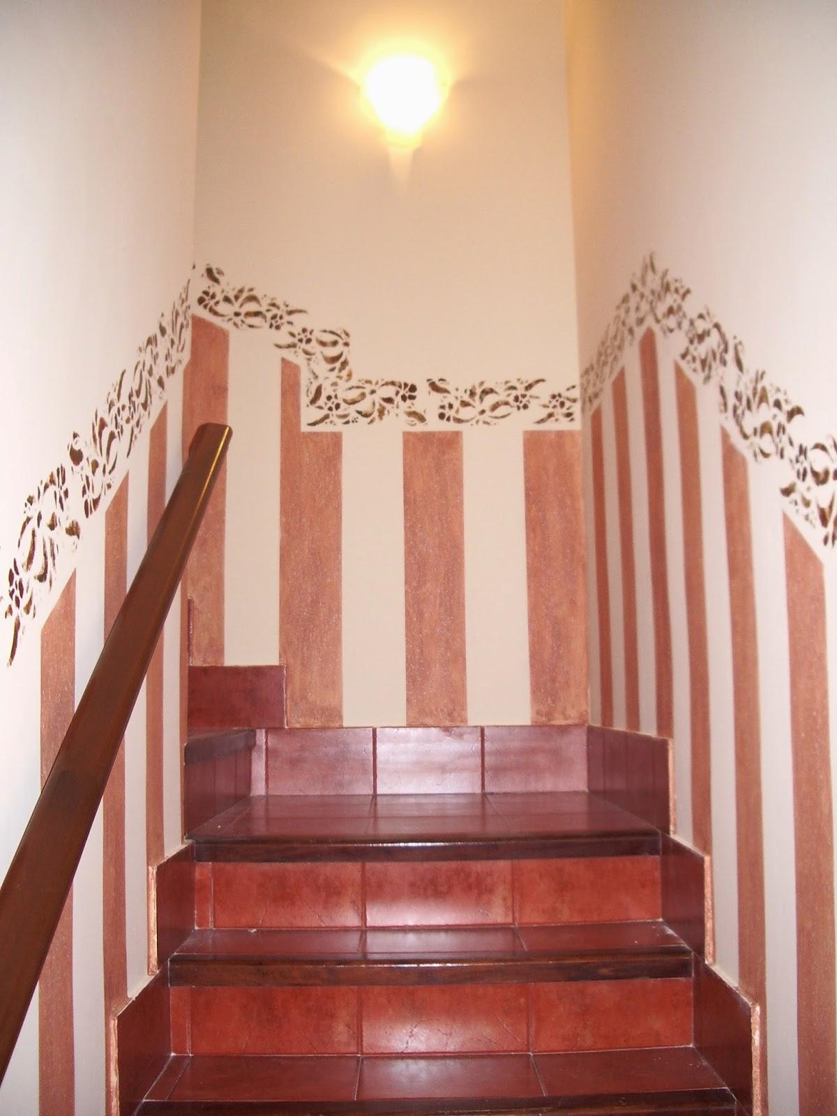 El arte de magoo especialistas en pintura mural y - Escaleras para pintar ...