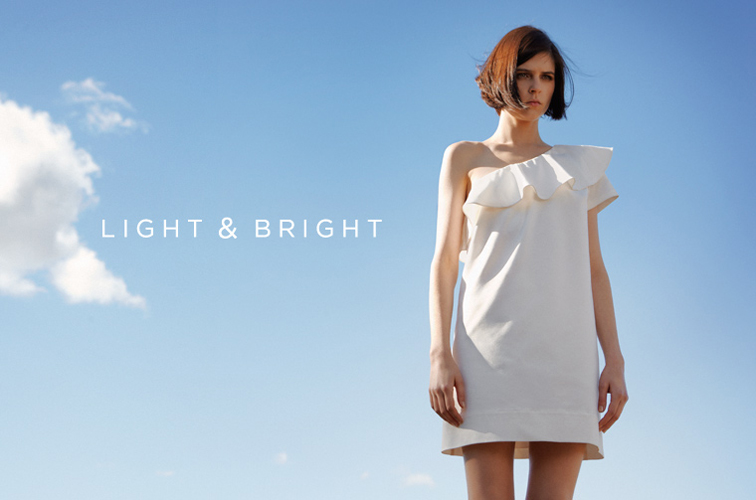 Club Monaco Saffi Dress White
