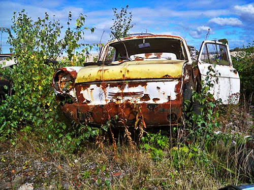 abandoned car, photography, art, urban, decay,