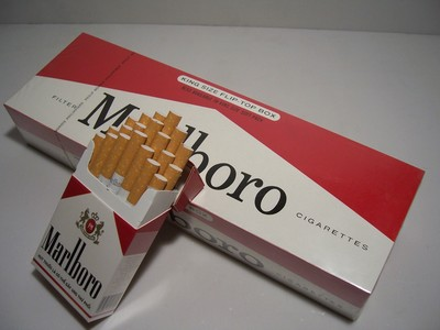 New York Michigan brand cigarettes Marlboro