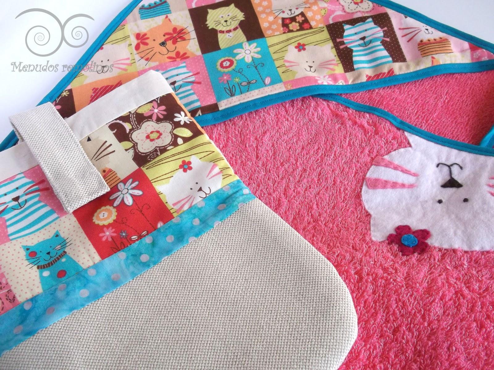 Menudos remolinos conjunto para una beb especial capa - Capas de bano bebe personalizadas ...