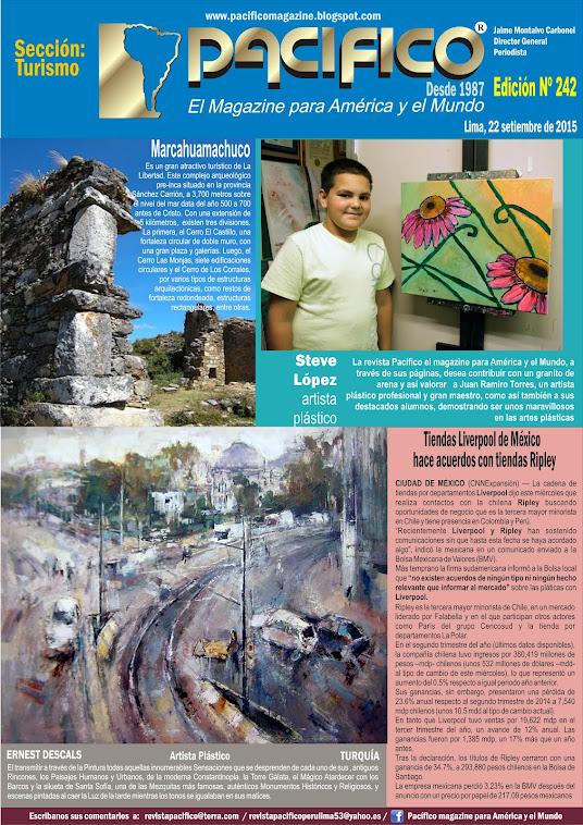 Revista Pacífico Nº 242 Turismo