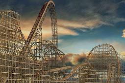 Roller Coaster Ini Pecahkan Tiga Rekor Dunia