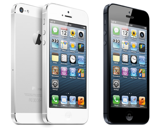Best SmartPhones 2012: Apple iPhone 5