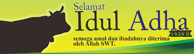 Baliho Idul Adha 1434 H