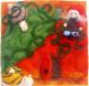 Zwergin Linnie auf ihrer Kürbisschaukel - von 7-puenktchen