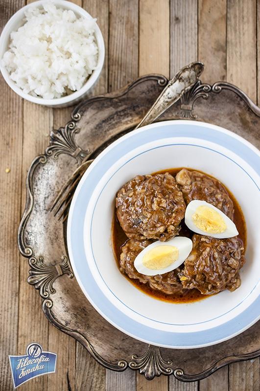 Etiopska potrawka z kurczaka