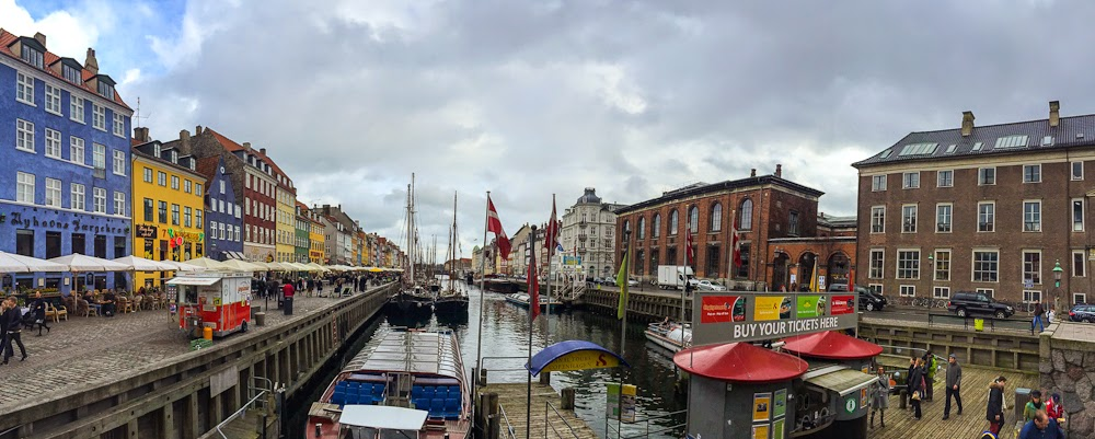 enjoying the view of nyhavn