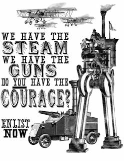 Imágenes steampunk (y por tanto aplicables al Castillo de Falkenstein. Vernepunk__Propaganda_by_iCaramello