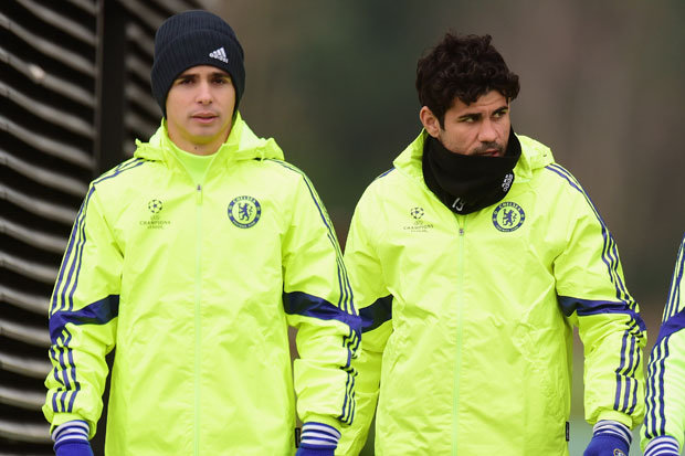 Chelsea stars involved in shocking training ground bust-up