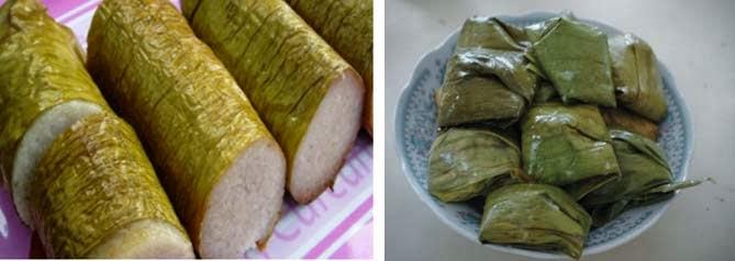 Gambar 4 kue kue tradisional 1 lamang dan 2 lapek