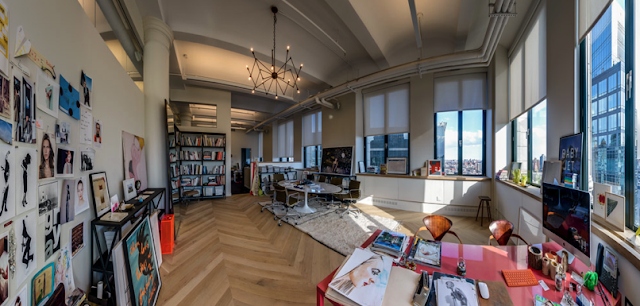 WORK IT WEDNESDAY: 360° TOUR OF JENNA LYONS' OFFICE