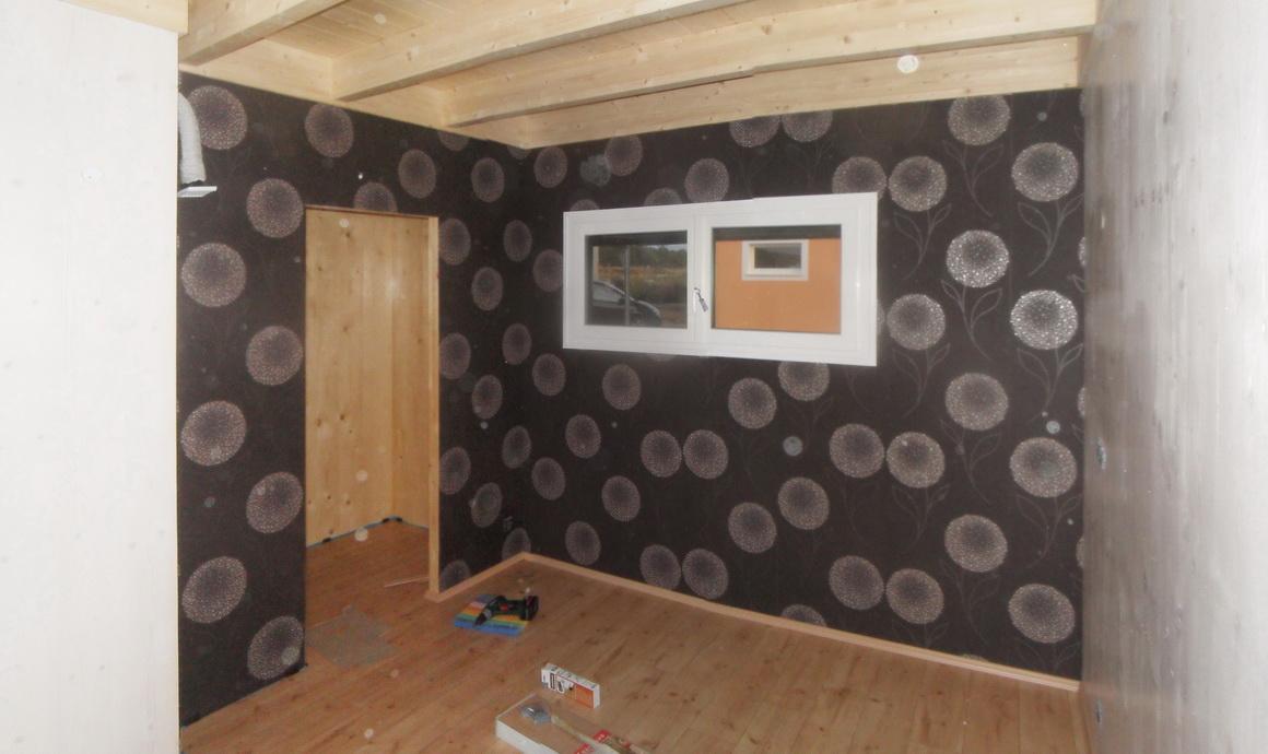 notre maison passive au pays des 3 fronti res lorraine chambre rdc seuil de l 39 escalier. Black Bedroom Furniture Sets. Home Design Ideas