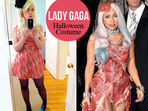Lady Gaga Halloween Costume Ideas Homemade my Lady Gaga Halloween Costume