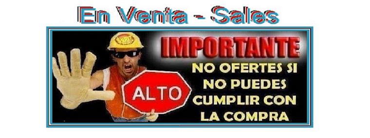 En Venta - Sales