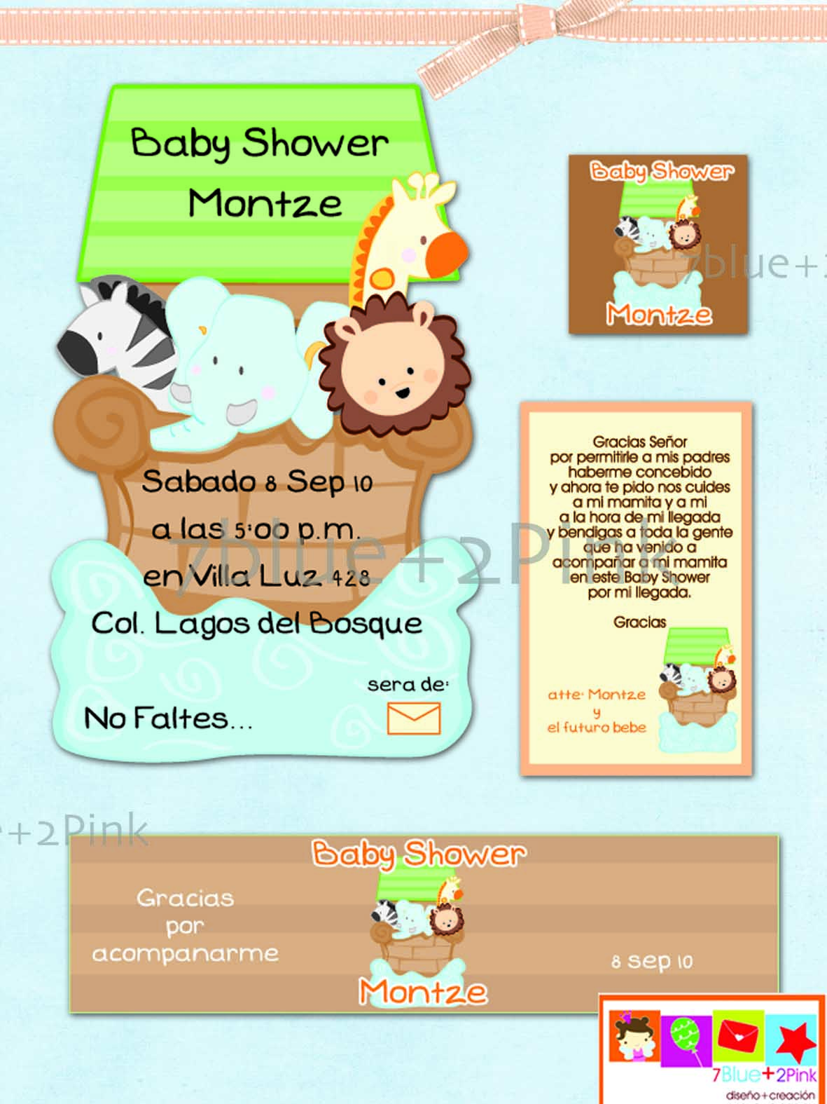Invitación Baby Shower