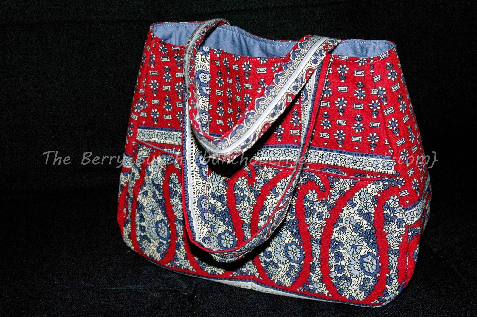 The Berry Bunch: Swoon Sewing Patterns: Ethel Tote