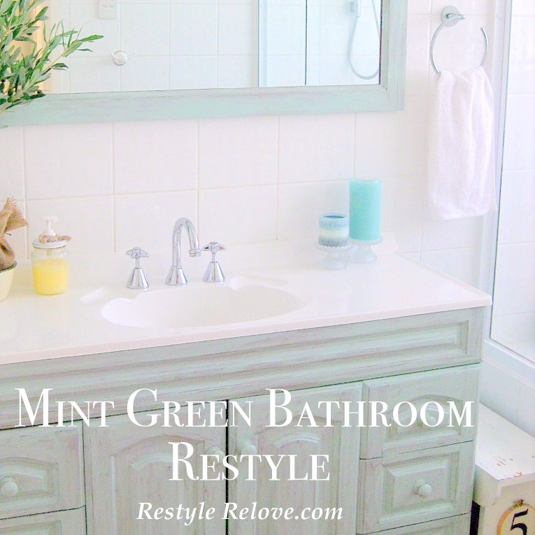 35 Seafoam Green Bathroom Tile Ideas And Pictures: Mint Green Bathroom Restyle