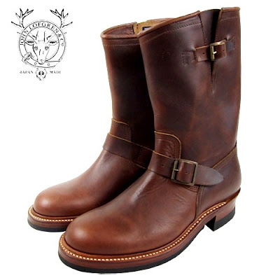 John Lofgren &amp; Co. Engineer Boots (BROWN HORWEEN CXL)