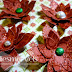 My Christmas Flower tutorial on the Whiff of Joy Inspirations blog