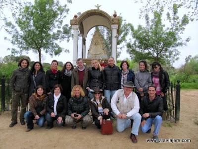 Participantes del FamTrip a la Comarca de Doñana