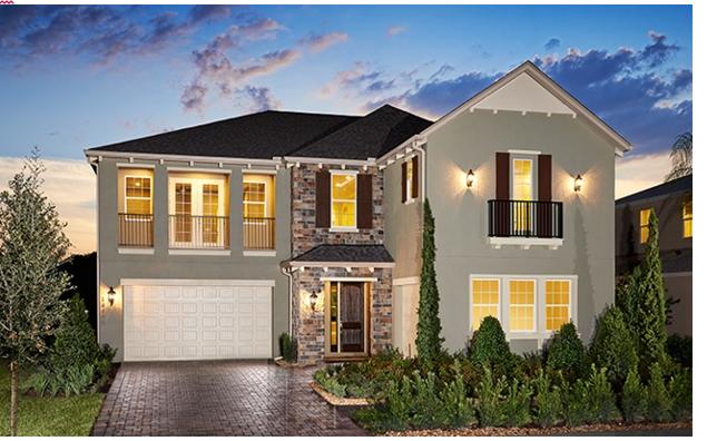 Attirant New Construction Homes In Orlando, Florida