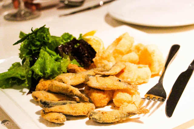 Tosca's Frittomisto (Fried Mixed Seafood)