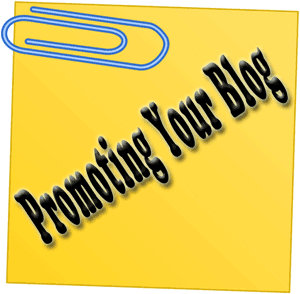 promoting blog