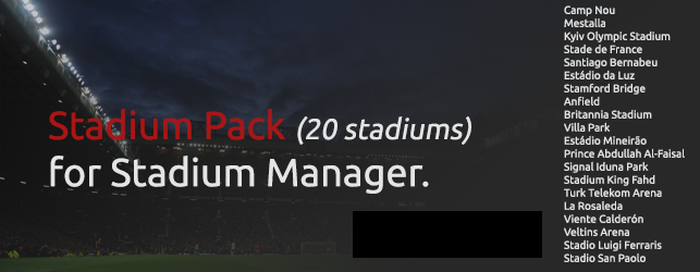 Stadium Pack untuk Patch PES 2015 dari PTE
