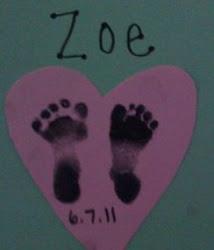 Tiny feet...