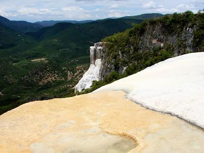 Cascata de sal Hierve el Agua - Oaxaca - México