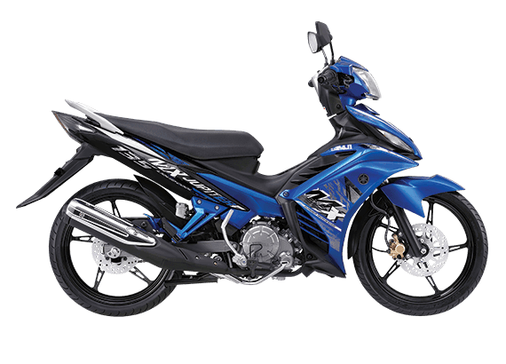 Yamaha New Jupiter MX Biru