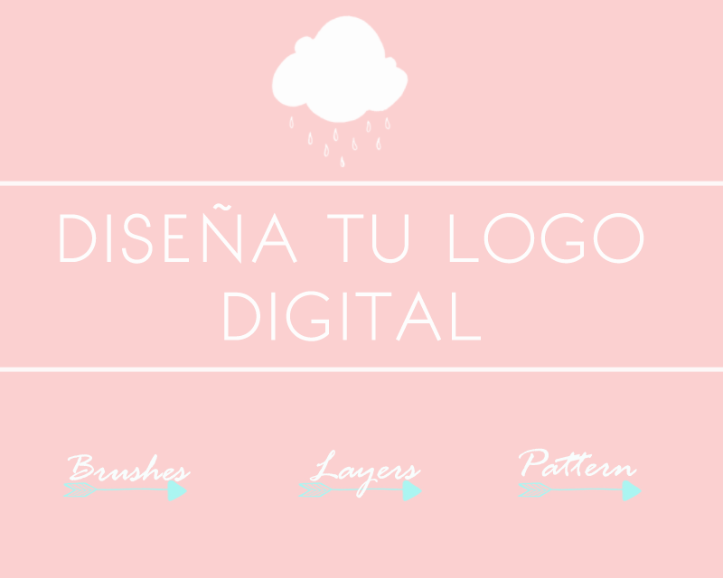 dise a tu logo digital en phostoshop mumslowcreative
