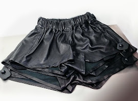 Leather Pajama Shorts from Rag & Bone.