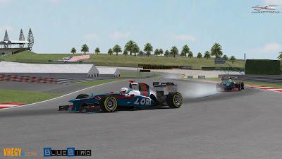 Formula-1 Szentliga, Szentliga, F1, sport, szimulátorbajnokság, Maláj Nagydíj, BlueBird Racing,