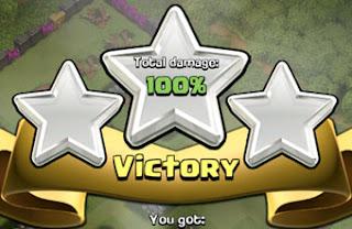 sukses 100% attack coc