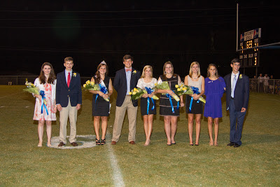 Montgomery Catholic Crowns 2012 Homecoming Queen & King 3