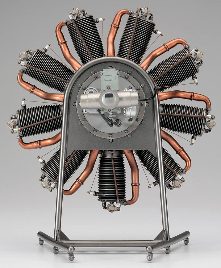 Scale Model News  Precision 1 8 Scale Hasegawa Rotary Engine