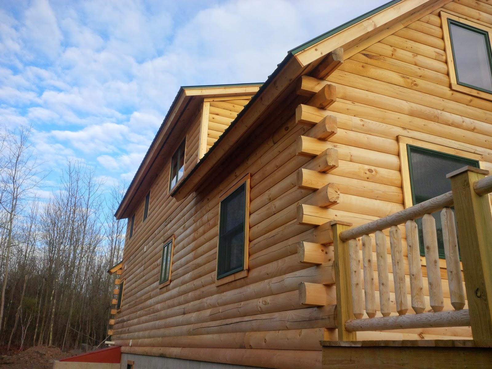 Durham NY log cabin staining company