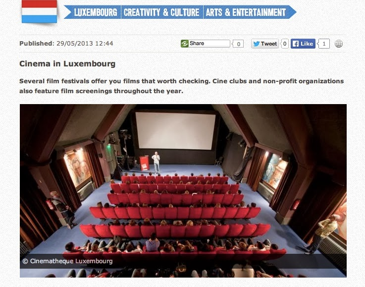 Cinema in Luxembourg