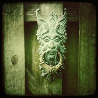 Nancy 39 s arts crafts green man forest legend - Green man door knocker ...
